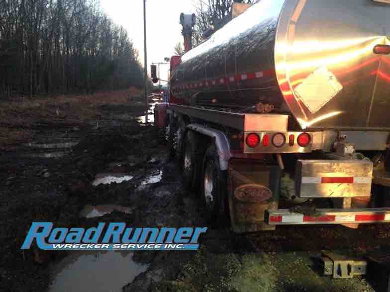 Heavy duty towing and bath are complete on tanker
