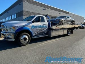 Tow Truck Company Tows Low Mercedes
