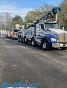 fire truck tow