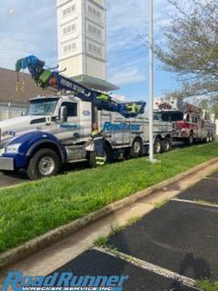 74,000 lb Fire Truck Tow